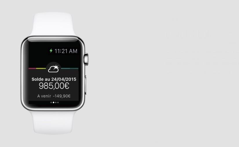 Aplikacja banku BNP Paribas na Apple Watch